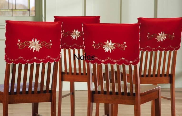 christmas chair covers ebay lifts stairs holiday new back cover santa claus ragg baggs personalized hat