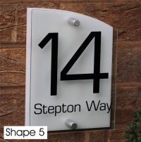 MODERN HOUSE Sign Door Number Street Nom Address plaques ...