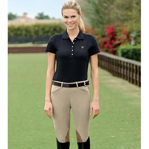 Custom Riding Apparel Comfort Ride Side Zip Breeches for