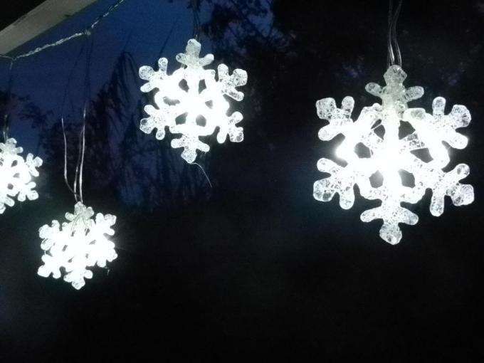 outdoor snowflake christmas lights democraciaejustica