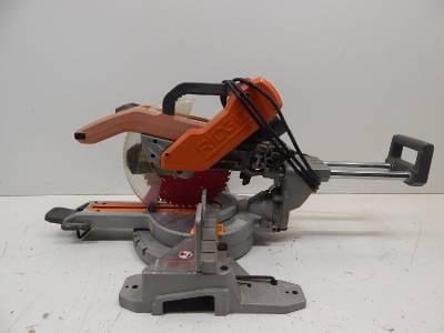 Ridgid MS255SR 103939 Sliding Compound Miter Saw 90466 JM eBay