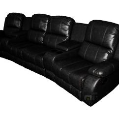 Home Theater Sofas Uk Queen Convertible Sofa Bed 4 Seater Recliner Lounge Leather Couch
