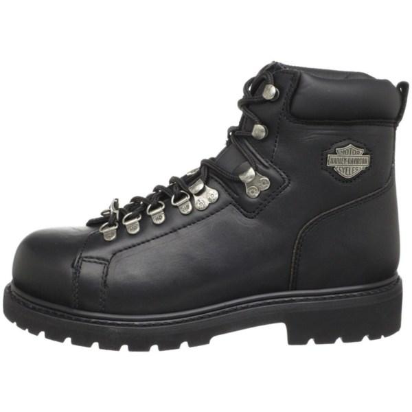 Harley Davidson Men' Dipstick Steel Toe Boots-black