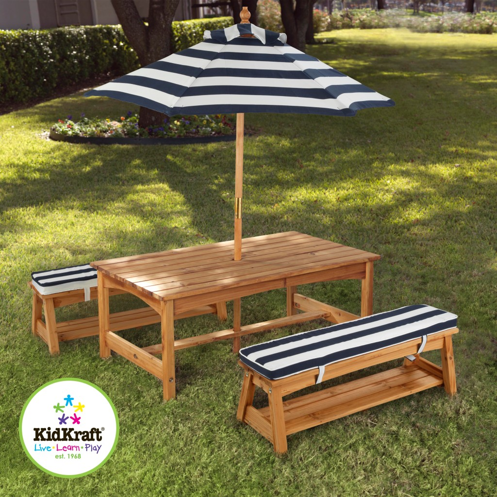Kids Wooden Table And Chairs Kidkraft Outdoor Kids Table And Chairs Set 2 Chair Benches