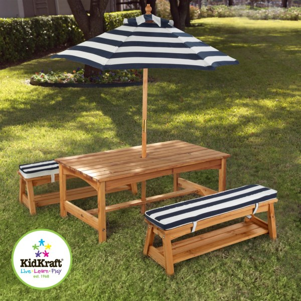 Kids Outdoor Tables and Benches