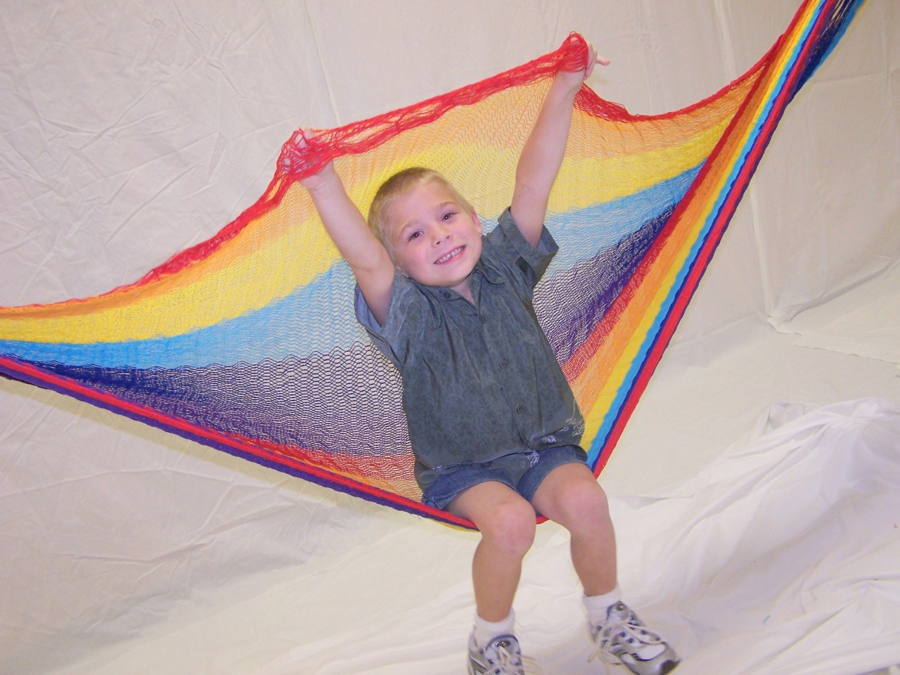 Hand Woven Small Mayan Hammock For Baby Or Small Child