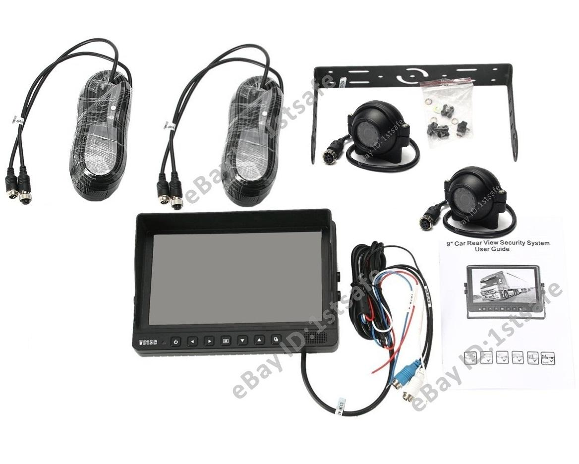 VEISE Rear View Backup Camera Cab Video System. 9