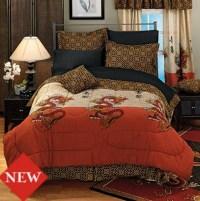 Asian Inspired Comforter Set