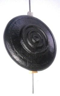 LONGCASE GRANDFATHER CLOCK CAST IRON PENDULUM COMPLETE ...