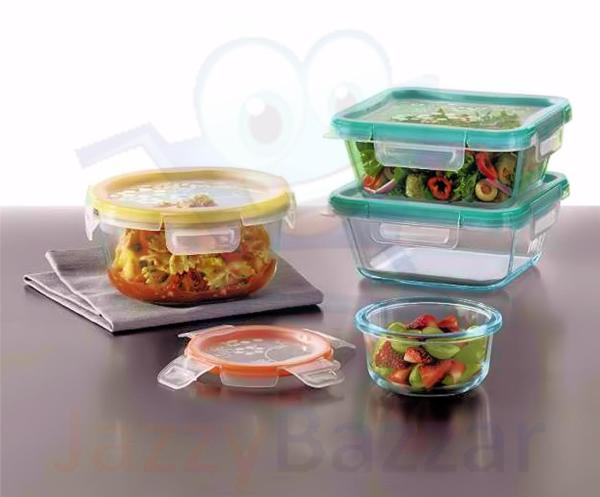 Snapware Pyrex 18pc Glass Storage Food Containers with