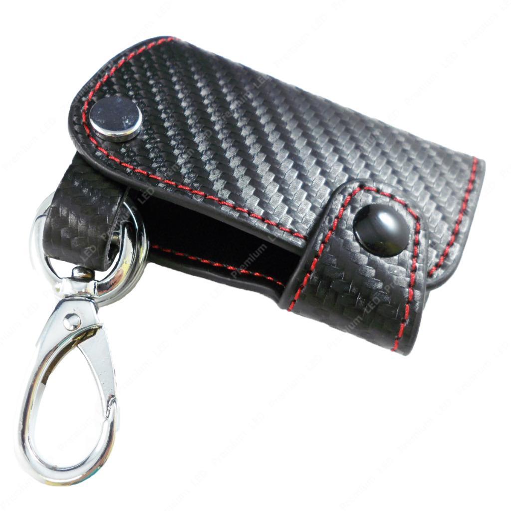 Fiber Leather Smart Remote Start Key Fob Holder Infiniti Nissan Ebay