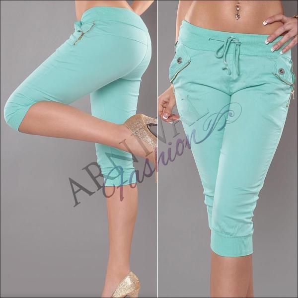 3 4 Cropped Pants Casual Short Capri Hot Capris