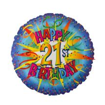 Happy 21st Birthday Balloons
