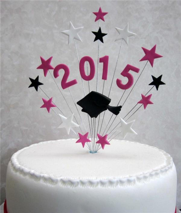2015 Graduation Cake Topper Ideal 20cm