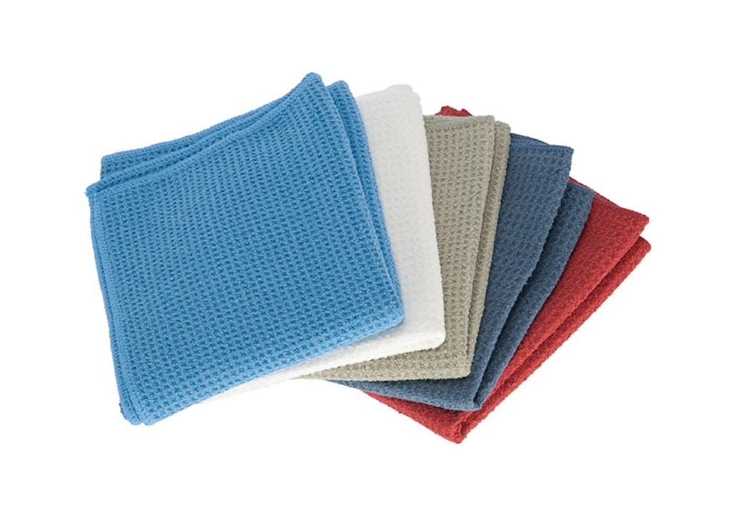 kitchen dish towels hape 3 pack waffle weave microfiber drying 16x24 eco friendly