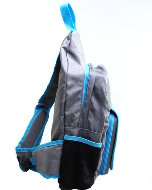 Jammypack Silver & Blue Single-strap Backpack Hoarder