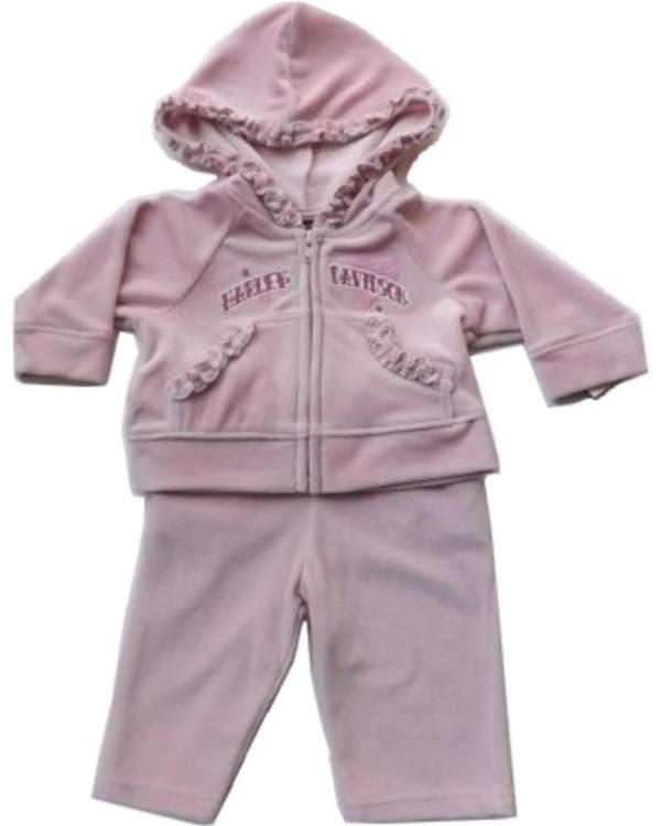 Harley-davidson-infant-baby-girls-2-pc-velour-warm-suit