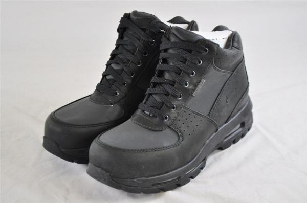 Nike Air Max Goadome Gtx 314346 001 Black Leather Gore-tex