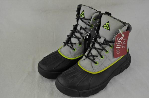 Nike Womens Lunarstorm 417724 002 Matte Silver Black-volt