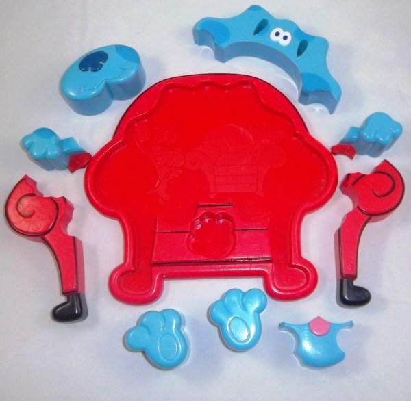 Nick Jr. Blues Clues Toys Dvd Game Book Handy Dandy