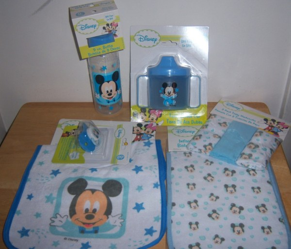 Disney Mickey Mouse Baby Shower Set Great