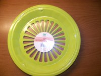 4 NEW PLASTIC PAPER PLATE HOLDERS LIME GREEN | eBay