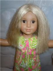 """american girl doll 18"""" light skin"""