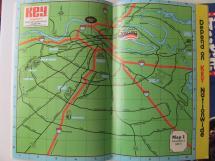Lot 1970s Map Opryland Hotel Nashville Tn Opry Ticket