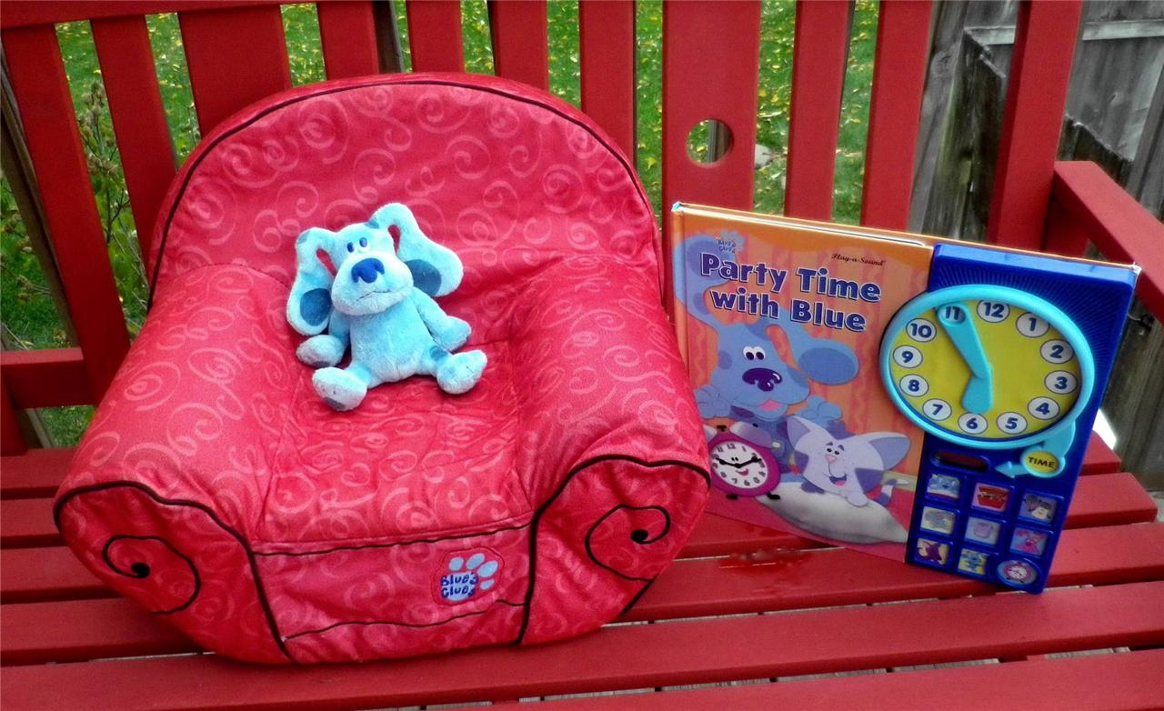 Thinking Chair Blues Clues Clock Two Related Keywords Blues Clues Clock