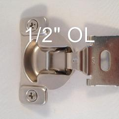 Changing Hinges On Kitchen Cabinets New Cost 10 Pairs 1 2 Quot 7 16 Compact Face Frame