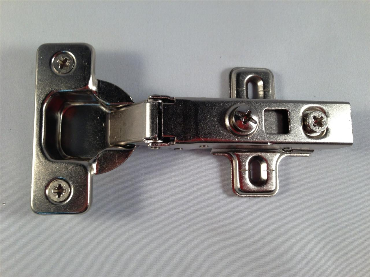 (50 LOT)SOFT CLOSE HYDRAULIC CABINET HINGES FULL HALF