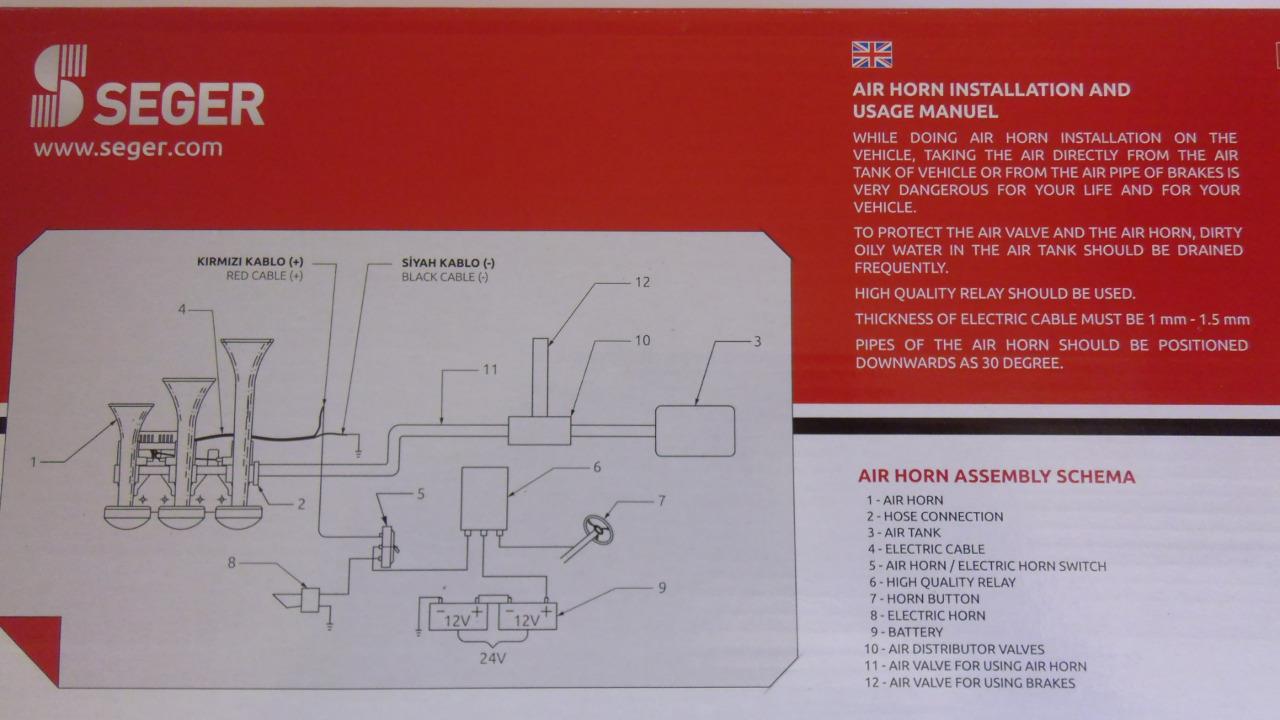 medium resolution of  volvo vn air horn wiring diagram on air horn switch air horn parts diagram