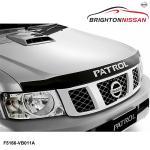 Genuine Nissan Patrol Gu Bonnet Protector Y61 Smoked F5166vb011a Ebay