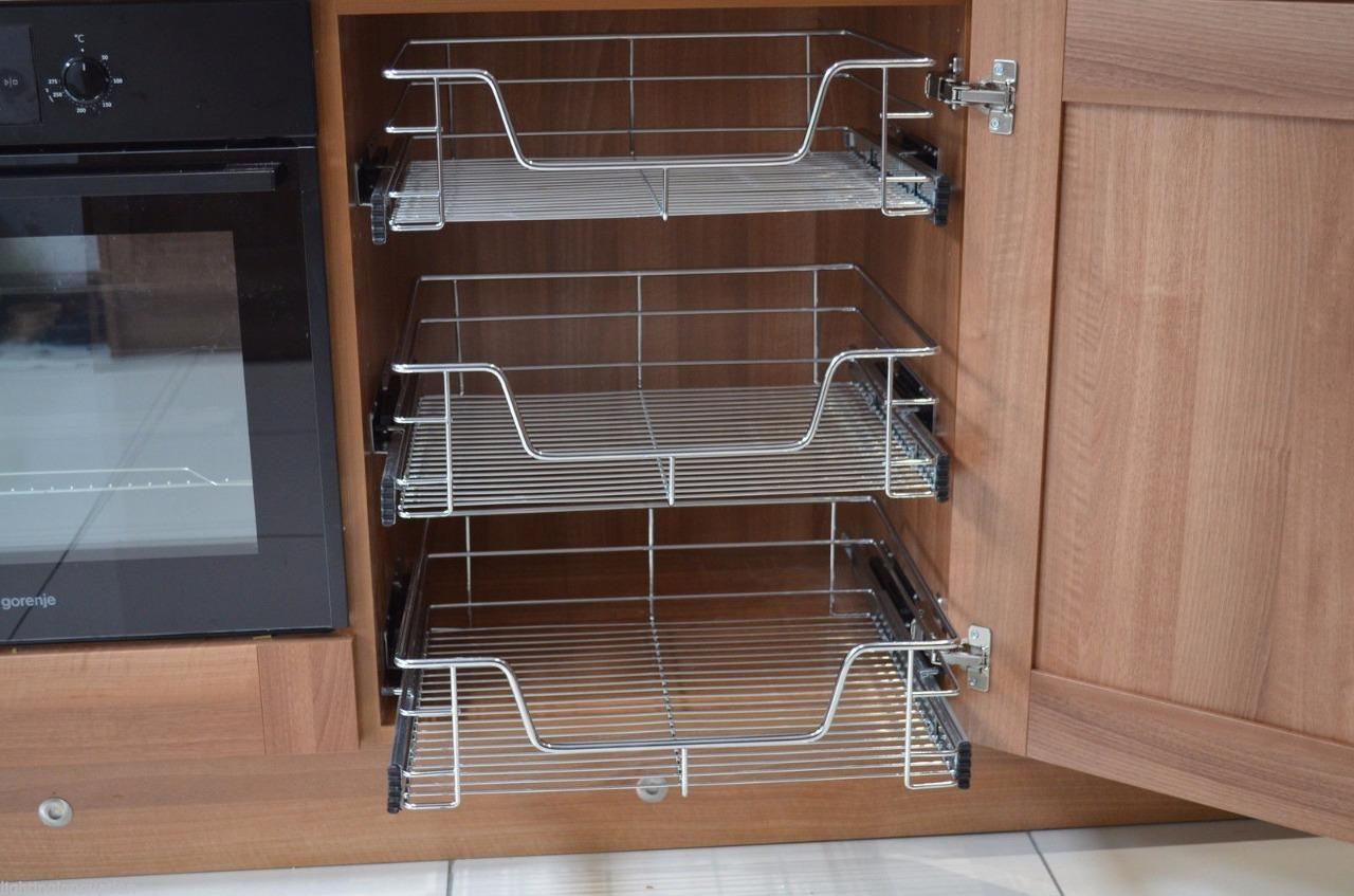 kitchen basket storage cabinets ft myers fl cabinet cupboard pull out wire