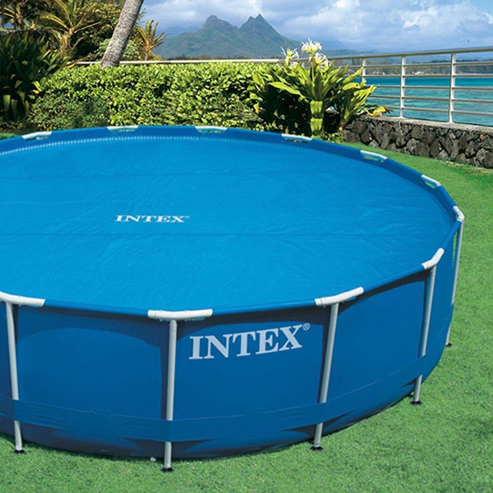 Intex Solar Pool Cover 12 Ft Frame Easy Set Pools