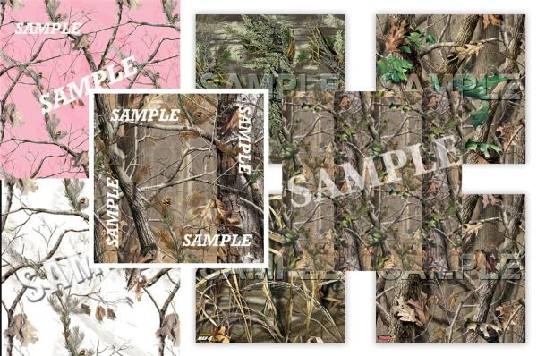 1 12x12 Papers Camouflage Scrapbook Sheet Outdoor