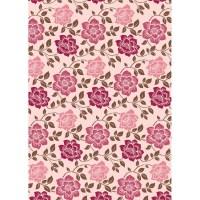 "1 8""x12"" Sheet Kanban Shabby Chic Floral Cardstock Paper ..."