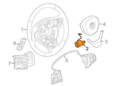 BMW F10 F11 F07 F12 F13 F06 F01 F02 M Sport Steering wheel
