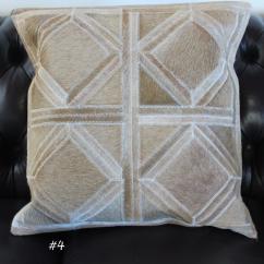 Deer Print Sofa Covers Usa Vs Mexico Sofascore Leather Hide Cushion Cover Geometric Diamond