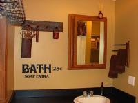 Bath Soap Extra Primitive Bathroom Decor Vinyl Wall Art ...