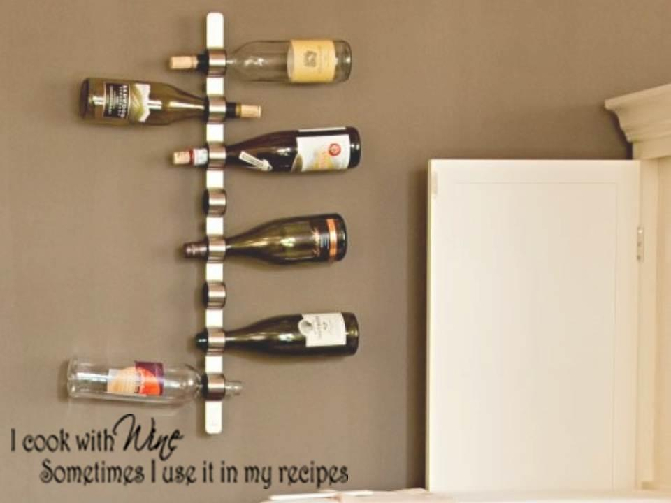 i cook with wine vinyl kitchen bar wall decal sticker