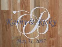 Personalized Wedding Family Monogram Vinyl Wall Art Decal ...