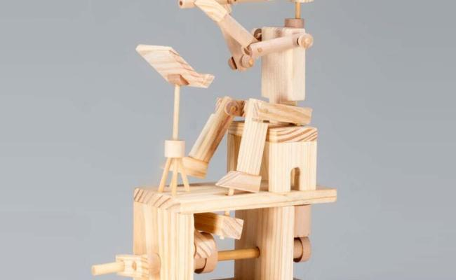 Timberkits Mechanical Self Assembly Wooden Construction