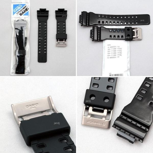 Original Casio -shock Replacement Band Strap -8900a-1