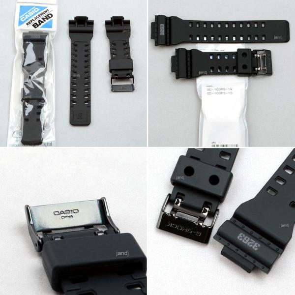 Original Casio -shock Replacement Band Strap Gd100ms-1 Gd