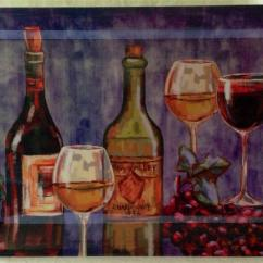 Grapes And Wine Kitchen Decor Restoring Cabinets Home Restaurant Large Jumbo Grape Theme