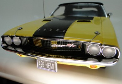 Franklin Mint Challenger Diecast Cars Collector