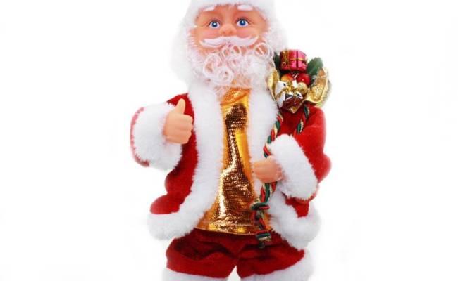New Music Xmas Christmas Toy Animated Santa Claus Gift