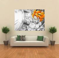 Dragon Ball Z DBZ Gogeta Anime GIANT WALL POSTER ART PRINT ...