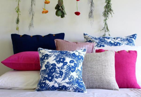 Cotton Euro Pillow Covers